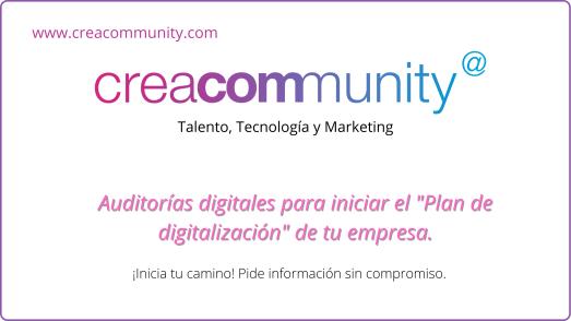 CreaCommunity auditoria digital
